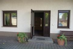 Der Eingangsbereich in Taucha