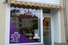 Unser Eingangsbereich in der Lindenthaler Hauptstraße 63